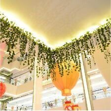 8.2feet Green Artificial Hanging Ivy Leaf Leave Garland Vine Fake Flowers