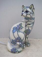 SOPHISTICAT ACCENT Light CAT KITTY FIGURE LAMP Numbered Tiffany Inspired 2013