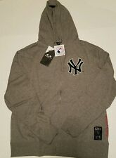 NWT Oakley New York Yankees Hoodie XL Holler Back Men's Fleece Full Zip Up MLB