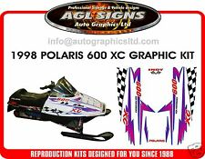 POLARIS INDY XC 600 HOOD DECALS, SHROUD  700 440