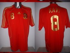 Spain Espana XAVI Shirt Jersey Football Soccer Adidas Adult XL Barcelona Home 08
