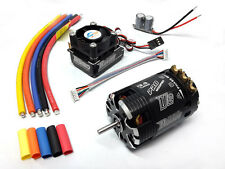 COMBO ROCKET BRUSHLESS SENSORI MOTORE 540 13.5T + REGOLATORE 120A TURBO MODIFIED