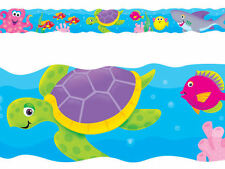 Under the Sea - Scalloped School Classroom Fish Display Border - Bolder Borders