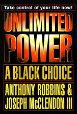 Unlimited Power - A Black Choice by Joseph, III McClendon and Anthony Robbins...