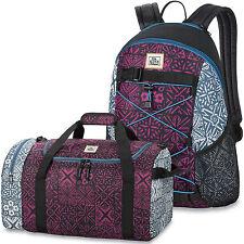 DAKINE 2er SET Rucksack Schulrucksack WONDER + EQ BAG SM Sporttasche Reisetasche