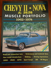 Chevy II Nova & SS Muscle Portfolio 1962-1974 by Brooklands