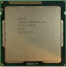 INTEL PENTIUM G840 DUAL CORE 2,80 Ghz Socket LGA 1155 CPU sr05p NO COOLER