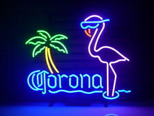 CORONA BEER PINK FLAMINGO Neon Light Sign 20''x16'' H105 ship from USA