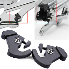 Harley HD touring Detachable sissy bar luggage rack latch latches Clips Kit Set