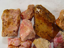 Pink Rhodochrosite Jewelry Grade Rough Argentina lapidary Rock RH011008