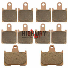 Front Rear Brake Pads For KAWASAKI Concours14 ZG1400/GTR1400 ZZR1400/ZX 14 Ninja