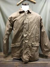 POLO RALPH LAUREN men's COTTON hunting field chore COAT JACKET sz L Lined