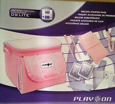 Pink Travel Bag Carry Case For Nintendo 3DS, 3DS XL DS DS Lite DSi DSi XL 3DSXL