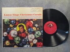 33 RPM LP Record Mario Lanza Sings Christmas Carols RCA Victor Red Seal LM-2333