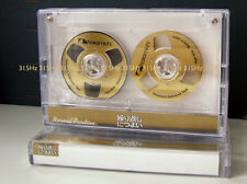 "Souvenir Reel to Reel ""Nakamichi"" Gold cassette tape self-made !"
