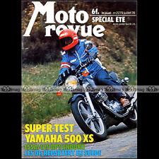MOTO REVUE N°2279 BPS 125 YAMAHA XS 500 SUZUKI VAN VAN 125 + SIDE-CAR ROCA 1976