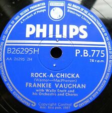 1035/ FRANKIE VAUGHAN-Rock-a-chicka-Kisses sweeter than wine-OHRWURM -Schellack