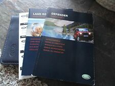 2004 2005 Land Rover Defender  Owners Manual