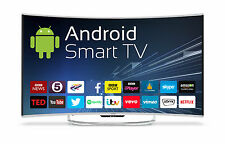 "Goodmans C55ANSMT 55"" Android Smart LED 4K Curve Screen TV + Wi-Fi & Freeview HD"