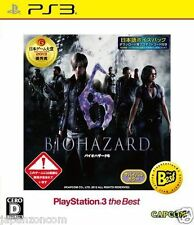 Used PS3 BIOHAZARD 6  PLAYSTATION 3 SONY JAPAN JAPANESE IMPORT