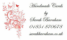 260 Personalised Labels / Address / handmade by / cards
