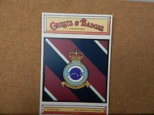 Royal Air force No 7 Squadron Crests & Badges of  the Armed services Postcard
