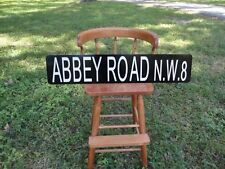 Beatles Abbey Road Reflective Aluminum Street Sign New Great for Man Cave - Bar