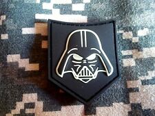 DARTH VADER GITD GLOW UKSF SWAT BLACK PATCH PJ KIFARU PCU rubber pvc