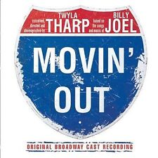 Movin' Out [Original Cast Recording] by Original Soundtrack (CD, Oct-2002, Sony