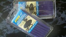 "DOUBLE BRAID DOCK LINE  3/8"" X 15FT PAIR 39981 PURPLE BOATINGMALL PWC EBAY SALE"