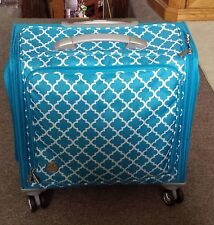 LARGE ORGANIZER CRAFT SUPPLIES CARRIER CASE TOTE ON WHEELS MULTI PURPOSE