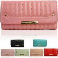 LYDC Ladies Clutch Purses Designer Patent Women Wallet Evening UK GIFT Boxed NEW