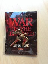 SDCC 2012 Comic Con SPARTACUS WAR OF THE DAMNED EXCLUSIVE Pin STARZ Very Rare