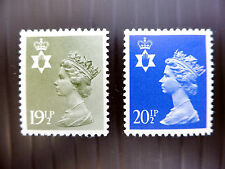 GB NORTHERN IRELAND Machin 19½p & 20½p SGN150/N152 U/M NEW SALE PRICE FP2402