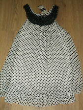 BNWT Pilot Size Small/Medium Spot Frill Hem Layered Line Dress  RRP £23