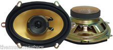 "Pair 5x7""/6x8"" inch Low Cost Car Audio 2-Way Coaxial Stereo Replacement Speakers"