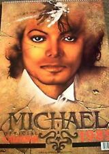 MICHAEL JACKSON 1989 CALENDAR OFFICIALLY LICENSED,  UNUSED