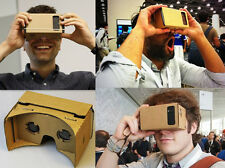 2015 DIY Google Cardboard GS Virtual 3D Glasses for iPhone MU Samsung ect Phones