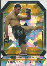Forrest Griffin 2011 Topps Finest UFC Atomic Refractors Card # FAR16