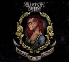 Dance of the Wicked [Digipak] by Sister Sin (CD, Jun-2013, 2 Discs, Victory...