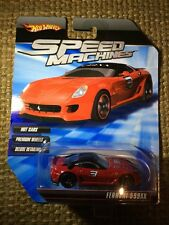 HOT WHEELS SPEED MACHINES FERRARI 599XX RED ~ OK Card ~ READ!