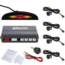 KKMOON 4 Parking Sensors LED Display Car Reverse Backup Radar System Kit US Q6H8