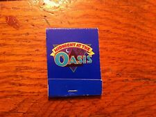 Midnight At The Oasis CAMEL JOE cigarettes Matchbook Collectible Vintage RARE