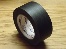 Case of 12 Rolls - 180 Feet Each - 2 Inch Wide BLACK MASKING TAPE