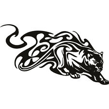 Tribal Tiger funny car  bumper, windows, caravan vinyl decal sticker