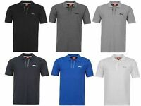 SLAZENGER POLO SHIRT T- SHIRTS MEN BOYS SHORT SLEEVE CASUAL TOP COOL DESIGNER