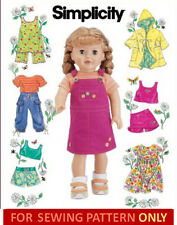 SEWING PATTERN! MAKE DOLL CLOTHES! FITS AMERICAN GIRL KANANI~LANIE! BEACH~SUMMER