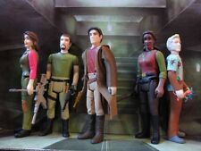 Firefly Serenity 3-3/4 ReAction LOT Jayne,Kaylee,Washburne,Zoe,Malcolm FUNKO