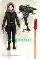 "Loose Sergeant Jyn Erso Jedha Star Wars Rogue One 3 3/4"" Figure"