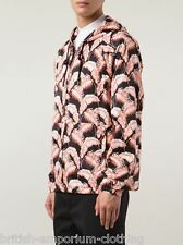 MARC JACOBS Leaf Print Techno Rain Jacket Coat IT50 UK40 Made In ITALY BNWT
